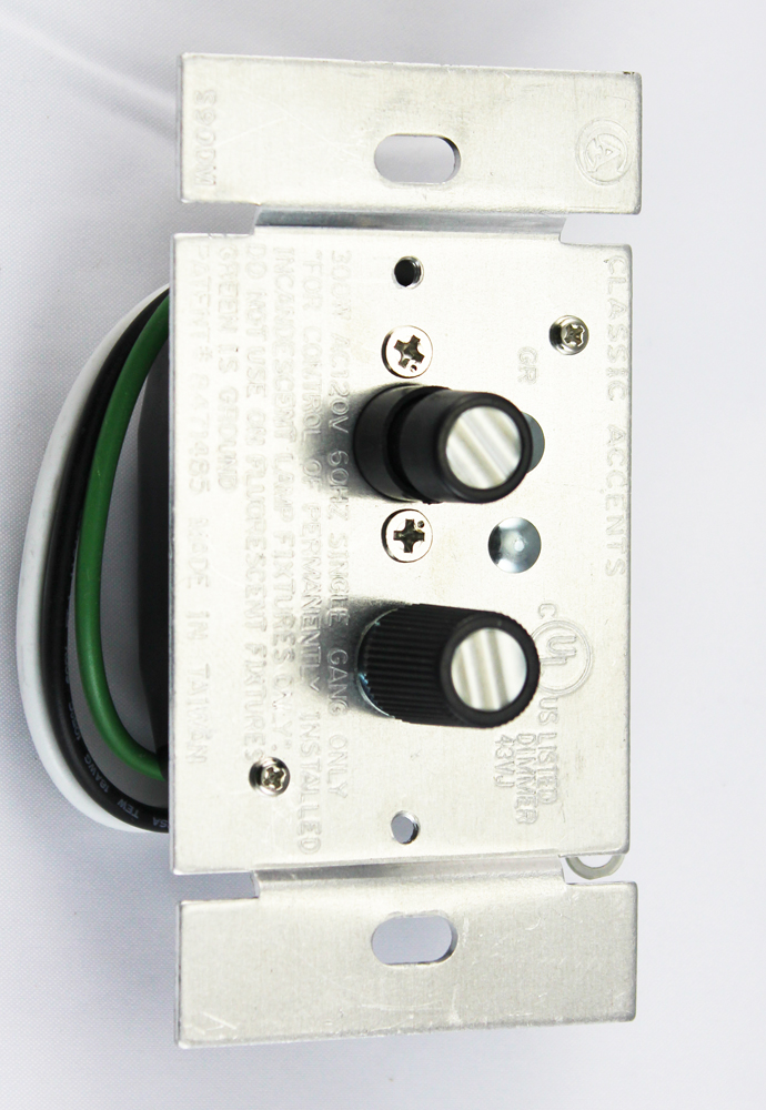 Classic Accents Inc Single Pole Dimmer Switch 300 Watts