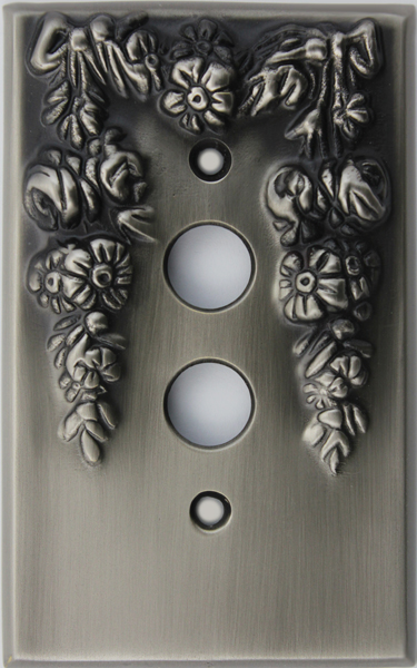 Antique Pewter Decorative (PWD) & Antique Pewter Decorative (PWD) | Push button light switches and ...
